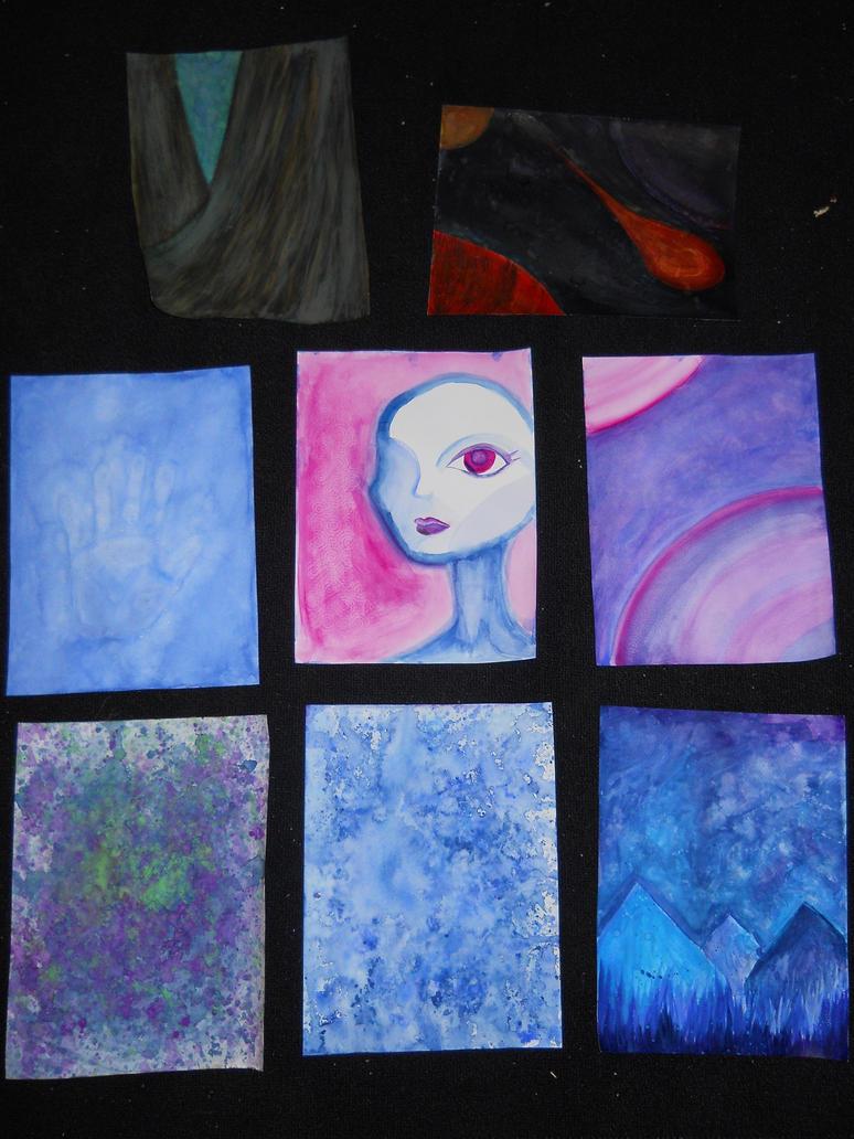 Watercolor paintings [FOR SALE] by absinthiac