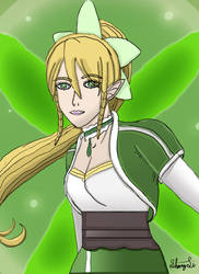 Sword art Online - Leafa Fan art