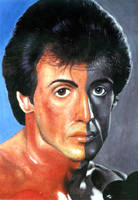 Sylvester Stallone by straycat27