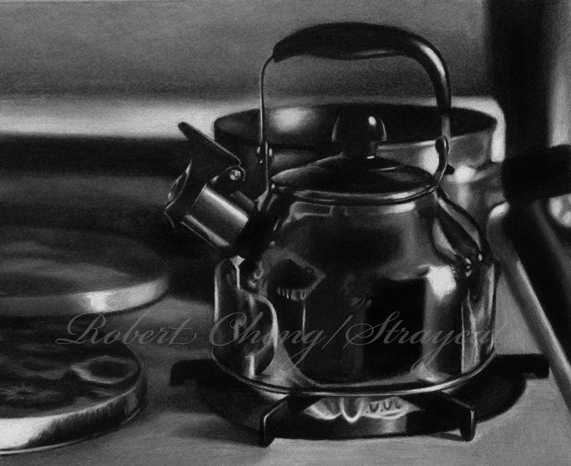 Whistling Kettle by straycat27