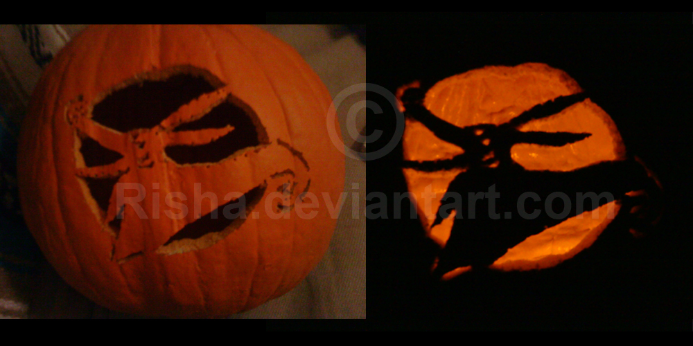NBC Zero Pumpkin Carving by risha