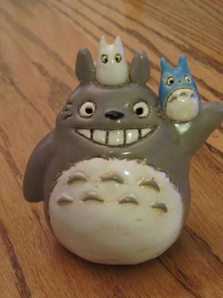 Totoro ceramic by AubreesPassions
