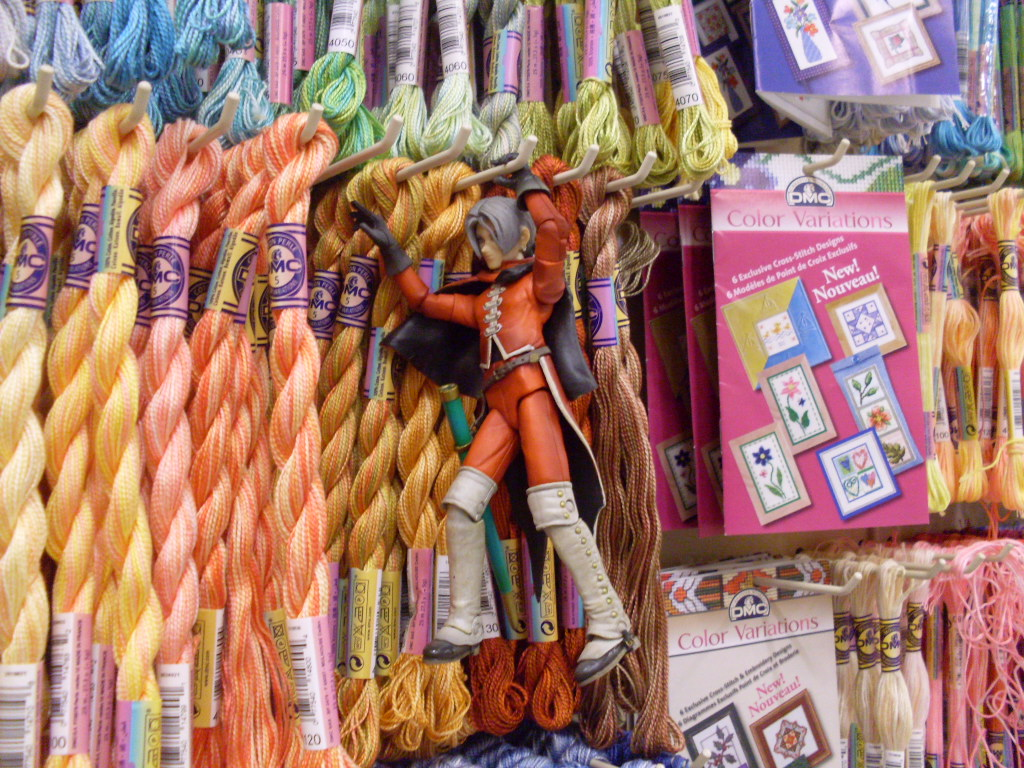 Swinging through a craft store near you by aquatic angel for Arts and crafts store nearby