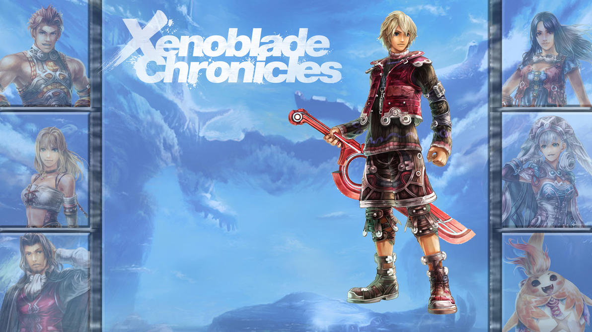 Lucky 7  Xenoblade Chronicles - Shulk by MrJechgoXenoblade Chronicles Shulk