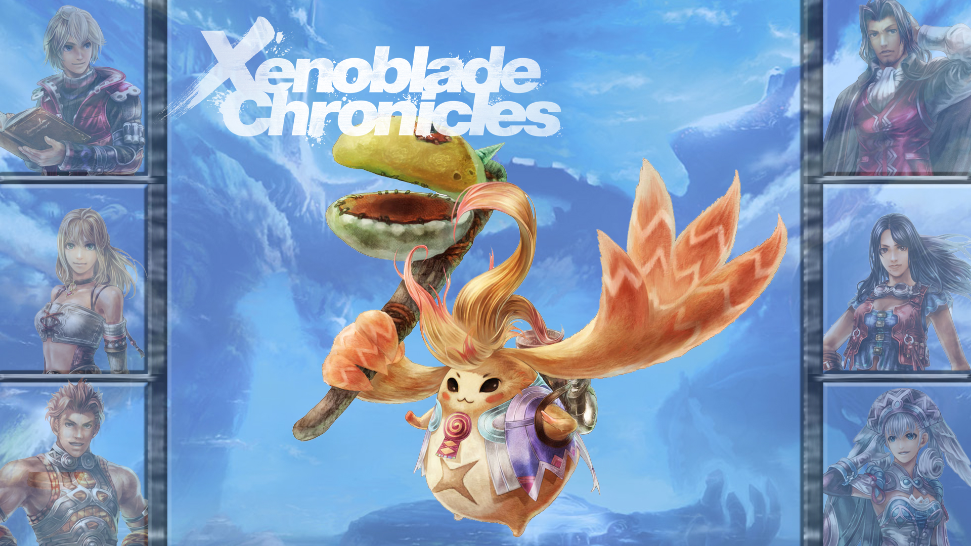 Lucky 7 Xenoblade Chronicles Riki By Mrjechgo On Deviantart