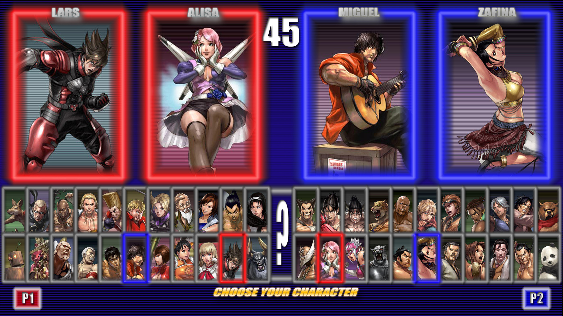 mugen how to get chracters in the character select screen