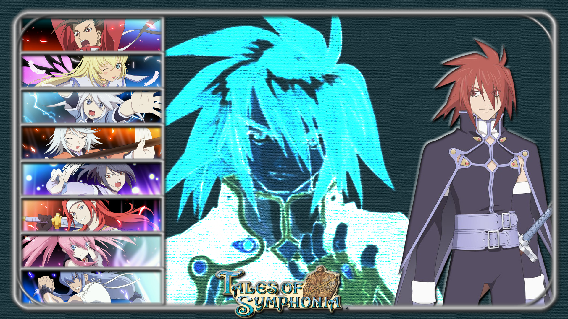 Ninefold Tales Of Symphonia Kratos By Mrjechgo On Deviantart