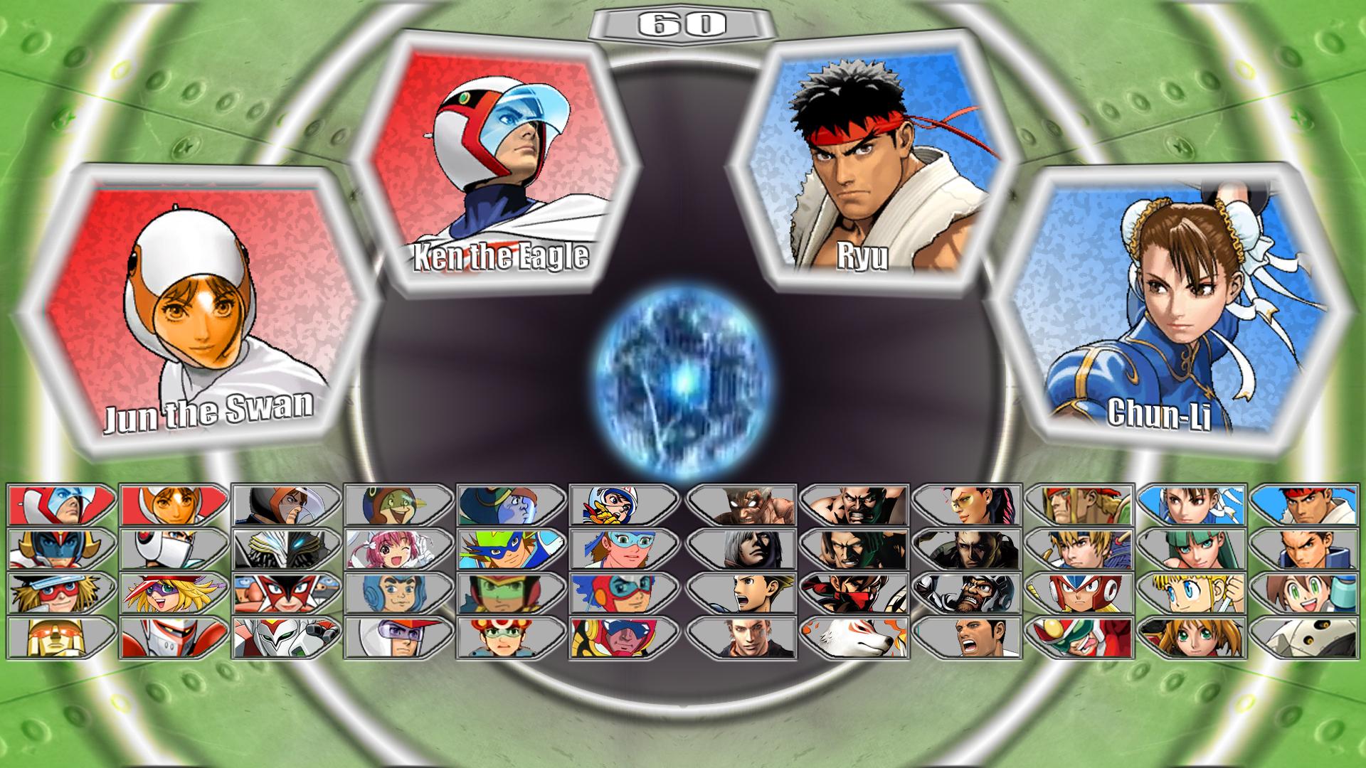 Tatsunoko vs Capcom 2 select screen by MrJechgo on DeviantArt