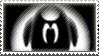 Albino Blacksheep Stamp. by Sophabelle