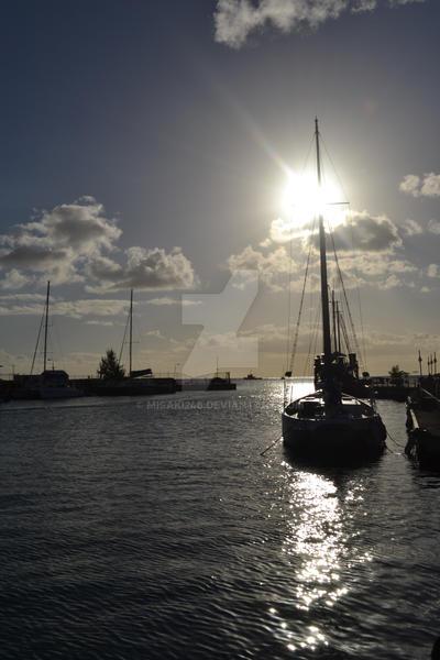 Bridgetown Harbour by misaki246