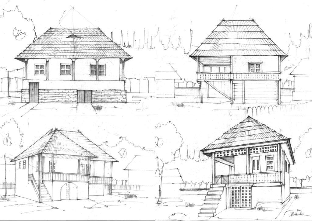 House Sketches house sketchesradu26 on deviantart