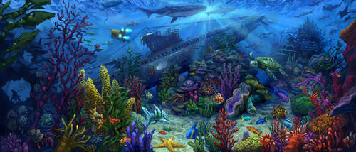 Ally's Aquarium by tomsymonds