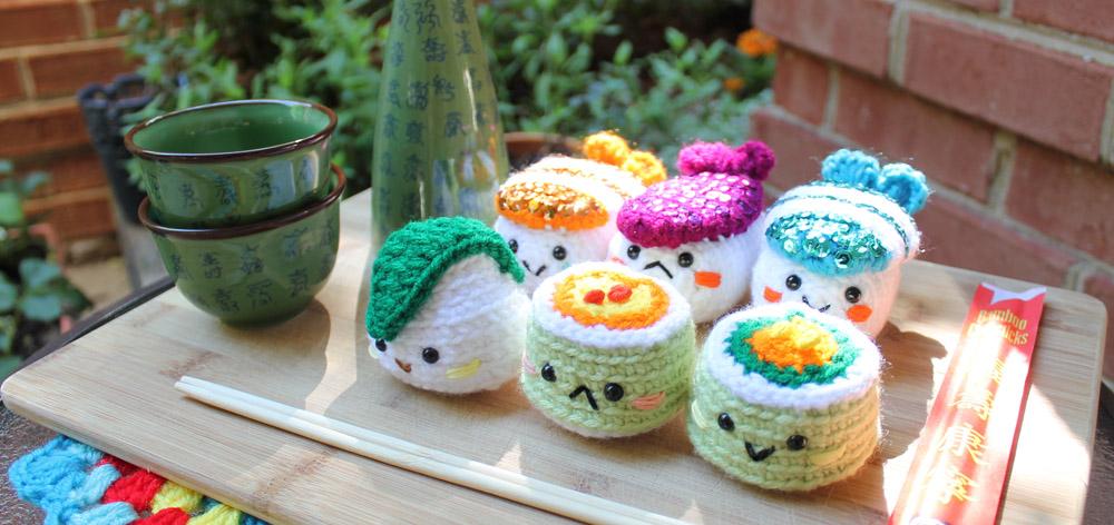 Sushi Amigurumi food by Amigurumifood on DeviantArt
