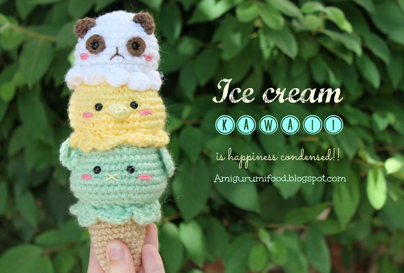 Amigurumi Ice Cream Tutorial : Ice Cream Amigurumi food by Amigurumifood on DeviantArt