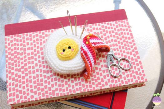 Amigurumi Food Fried Egg