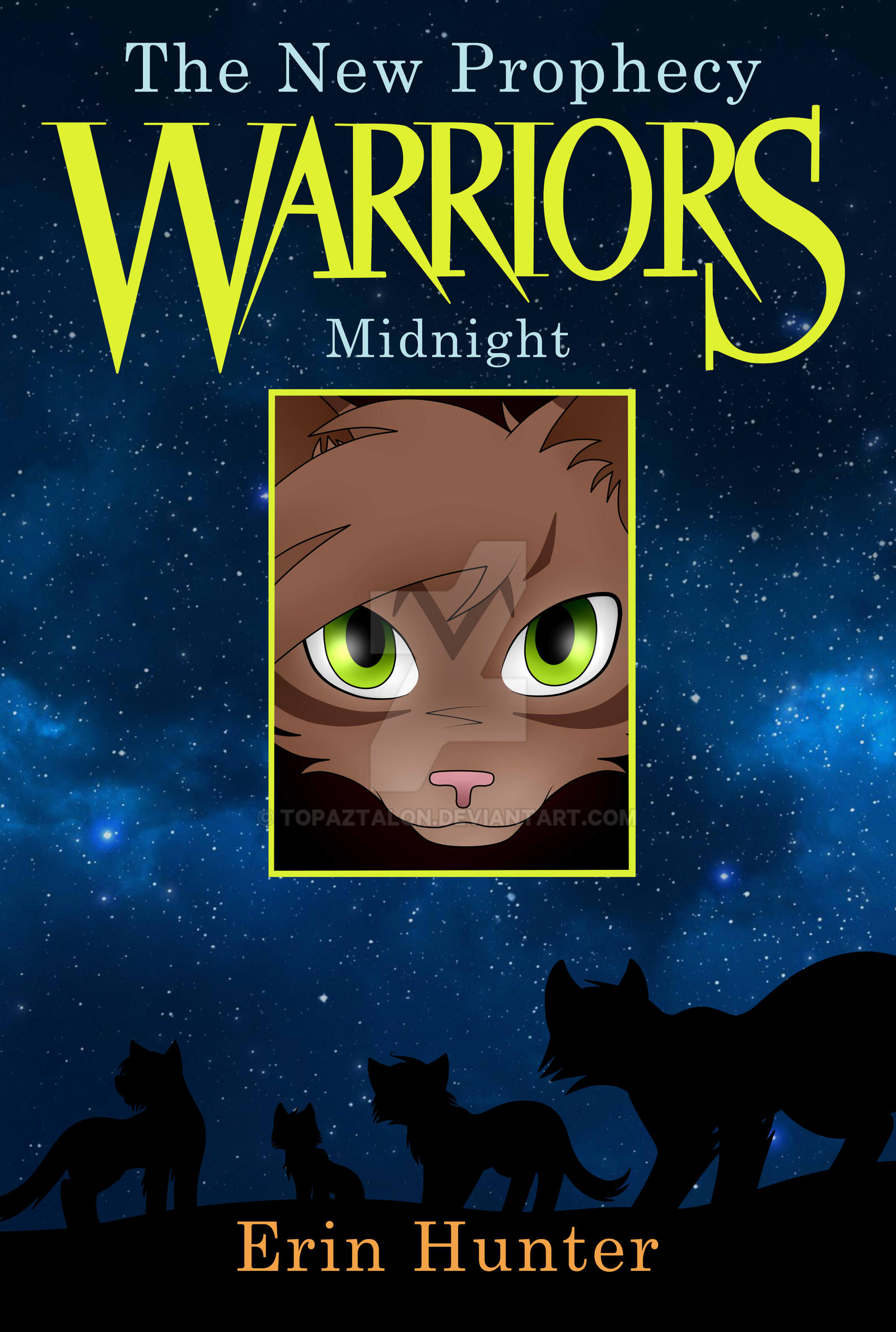Warrior Cats Book Cover Maker