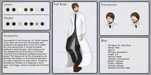 Project Divinity - Bio: Dr. John Silver