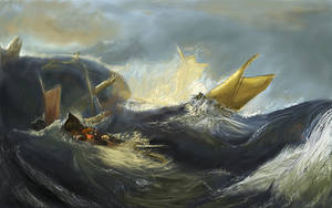 Shipwreck - Rendition by Supernova87