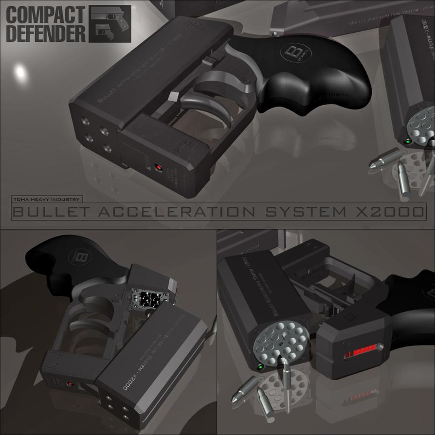 Bullet Acceleration System X2000 by bassman5911