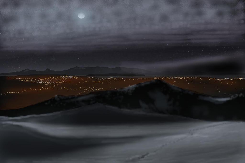 Persis Midnight West by Phantasmicomico
