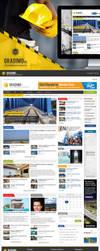Web design for Gradimo portal by protpl