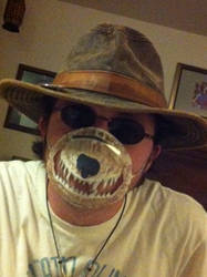The Bear Mouth Face Mask