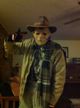 Zipper Face: the twisted scarecrow