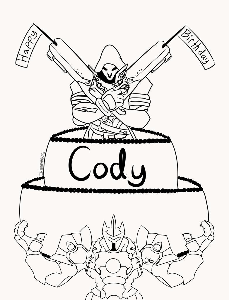 Happy Birthday Cody! by INTHEDARK001