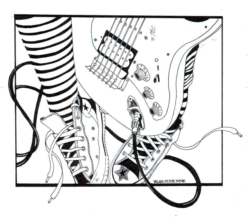 Guitar girl by Sadboy09