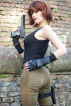 Meryl - Metal Gear Solid cosplay 2