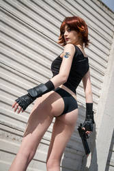 Meryl Silverburgh Sexy Cosplay - Metal Gear Solid by Meryl-sama