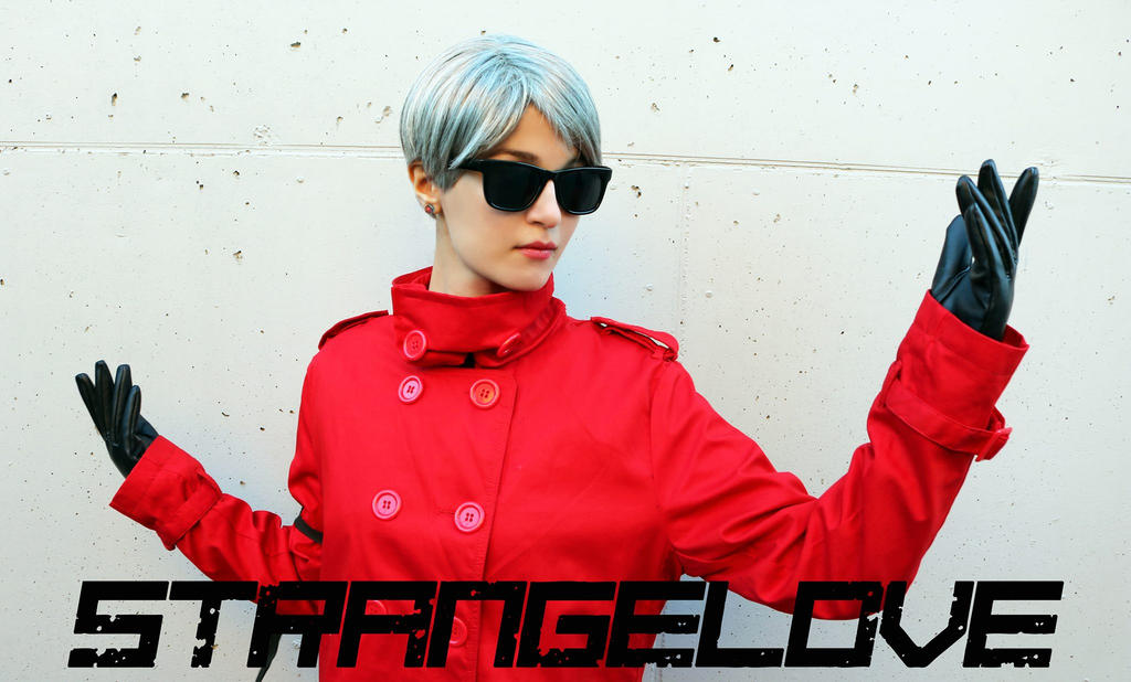 Strangelove - Metal Gear Solid cosplay by Meryl-sama
