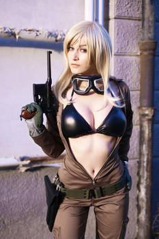 EVA - Metal Gear Solid cosplay by Meryl-sama