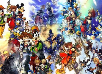 Ultimate Kingdom Hearts by BlackkBirdss