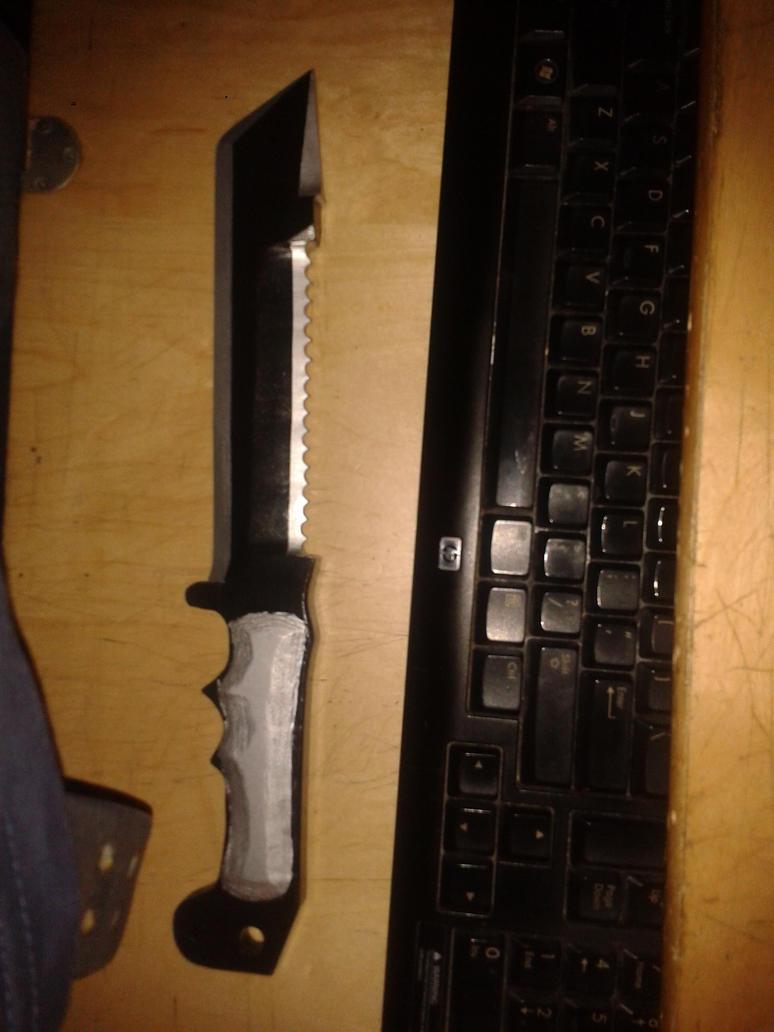 Assassins Creed combat knife by Shadow-Ryuu