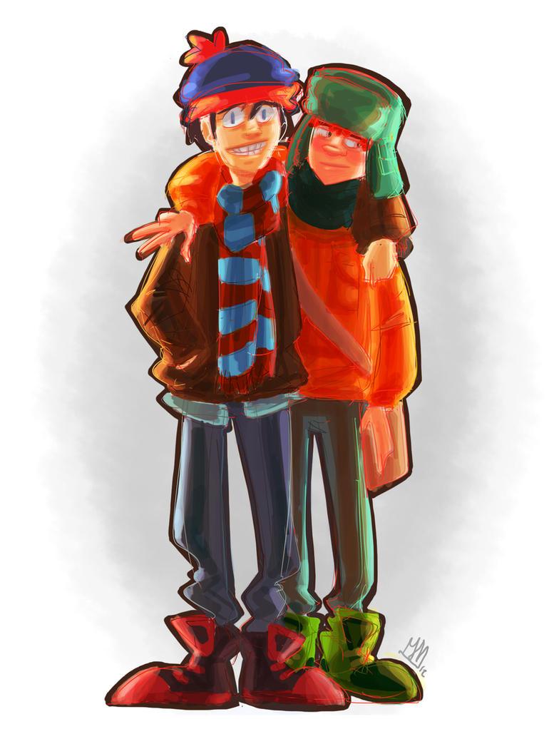 Super best friends by Joxem