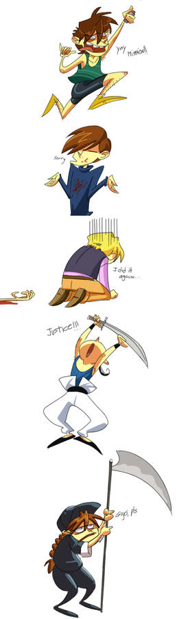 Shinigami's job