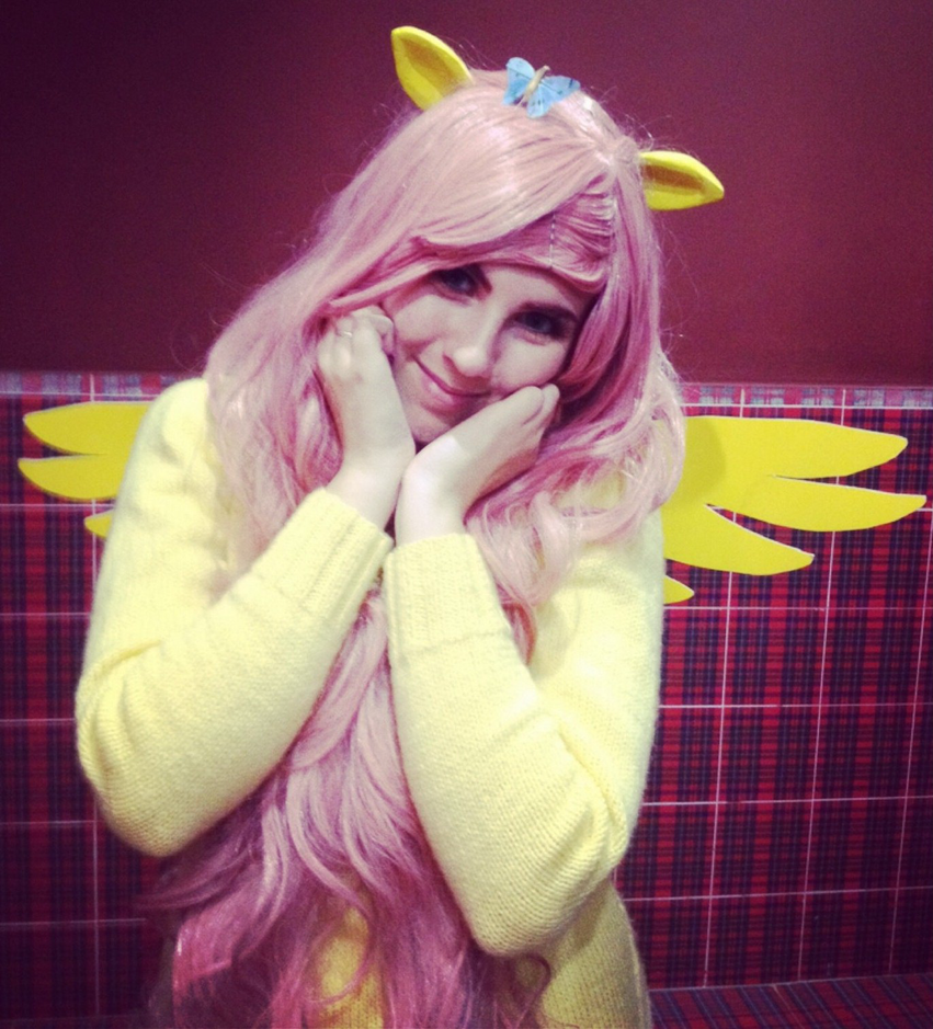Fluttershy - MLP:FiM Cosplay [2] by Springtrap-97 on