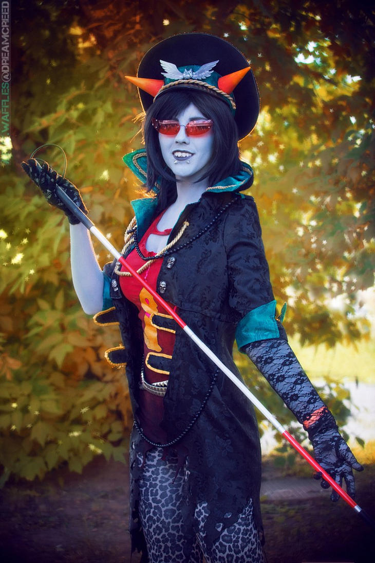 Militarystuck Terezi Cosplay by Sioxanne
