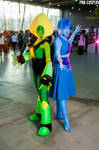 Peridot and Lapis Cosplay by Sioxanne