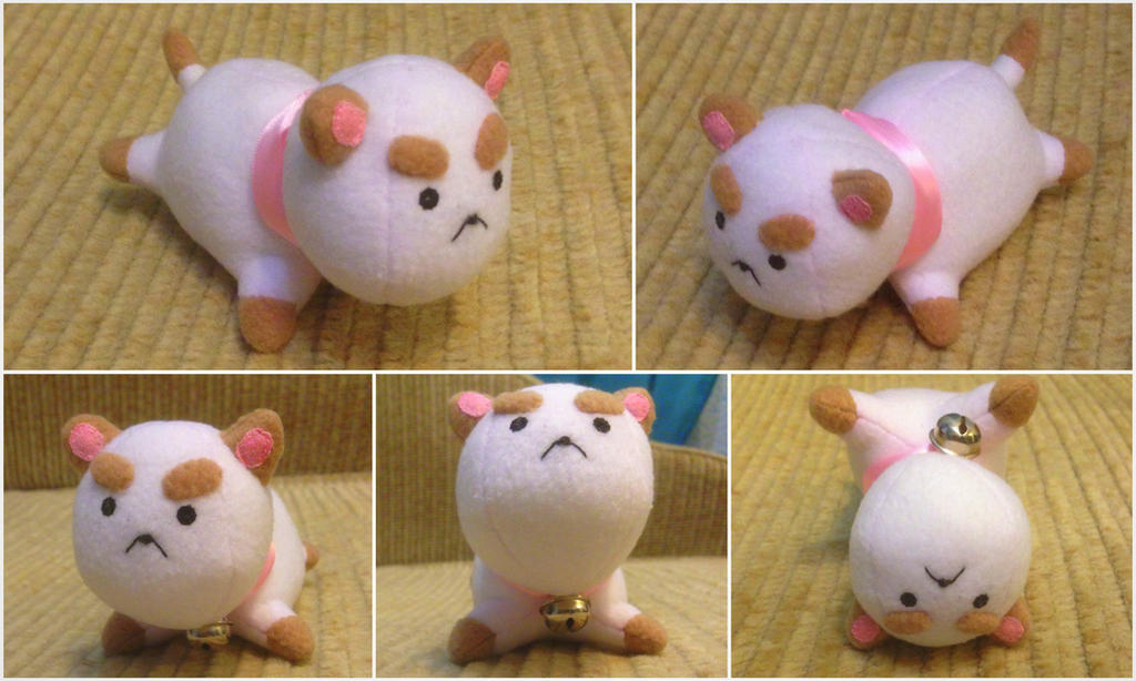 Puppycat Plush by Sioxanne