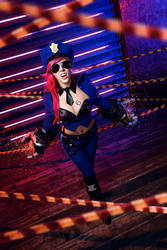 League of Legends - Officer Vi Cosplay by Sioxanne