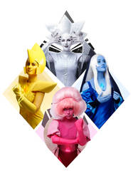 The Great Diamond Authority Cosplay by Sioxanne