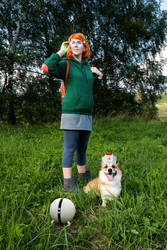 Infinity Train: Tulip and Atticus Cosplay by Sioxanne