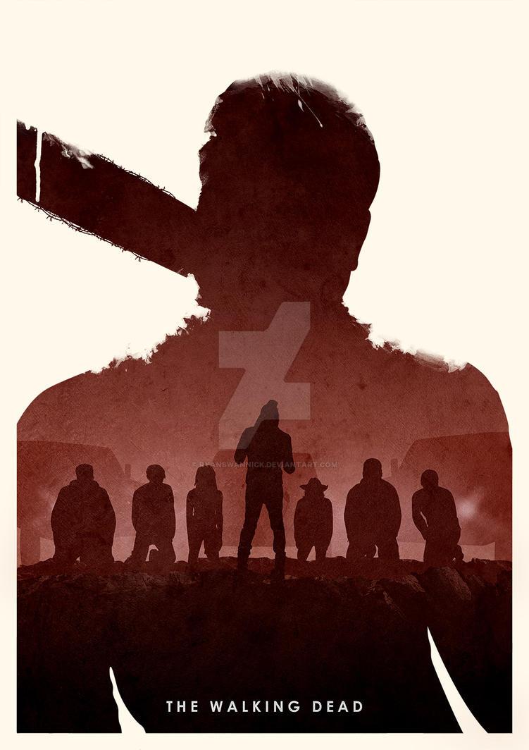 The Walking Dead (Negan Edition) by ryanswannick