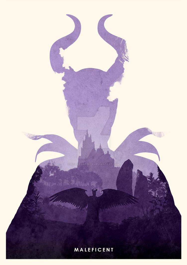 Maleficent by ryanswannick