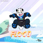 Flooding Universe