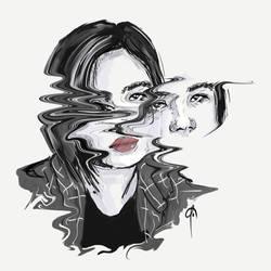 Simple Portrait Art_0.6