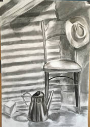 Still Life with Chair and Hat