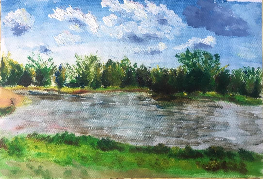 Landscape Study #1 by Ciryu